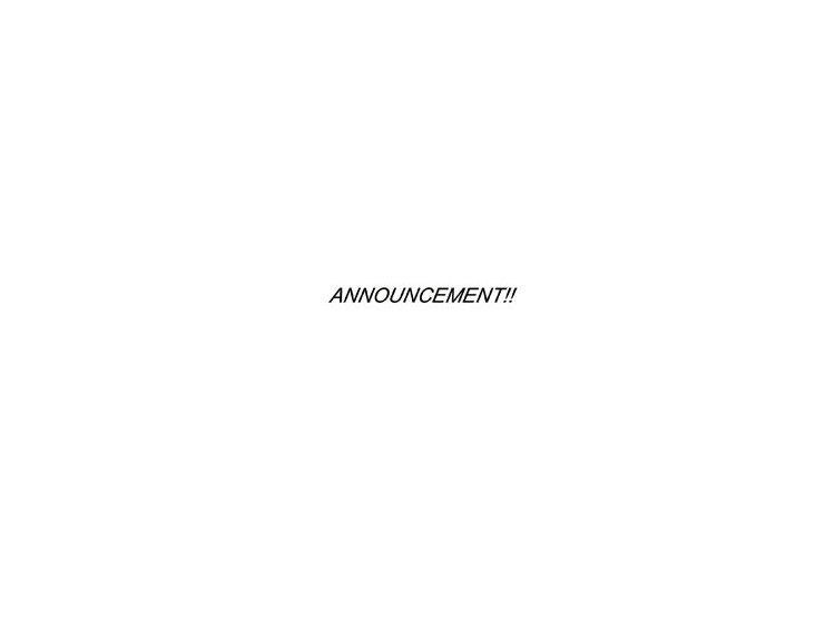ANNOUNCEMENT-001 750