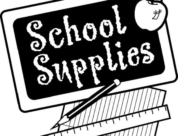 School supplies 750 sq