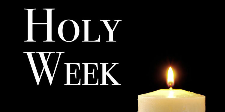 holy week cover photo